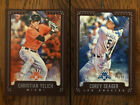 Corey Seager Rookie Cards Checklist and Top Prospect Cards - Rookie of the Year 46