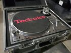 TechnicsSL 1200MK2 Direct Drive DJ Turntable with new CHROME SKIN Installed