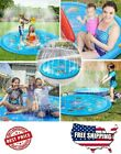 Outdoor Water Play Sprinkler Pad Splash Play Mat 68 Fun Toy for Toddlers Party