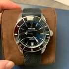 AUTH Breitling Superocean Heritage II Automatic 42 Black rubber AB2010