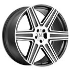 4 Mandrus Atlas 18x85 5x112 +32mm Gunmetal Mirror Wheels Rims