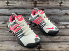 Nike Shox Current White Pink Dark Gray 639657 108 Womens Size 75 Running Shoes