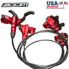 ZOOM Mountain Bike Hydraulic Disc Brakes Levers Front Rear Rotor Disc Brake Set