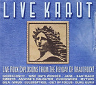 VARIOUS ARTISTS-LIVEKRAUT - LIVE ROCK EXPLOSIONS FROM THE HEYDAY OF KRAUT CD NEW