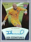 2015 Panini USA Soccer National Team TIM HOWARD Holo AUTO Autograph 15 49
