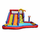 Banzai Twin Falls Giant Colorful Inflatable Water Park Bounce House Open Box