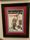 RARE HUGH HEFNER SIGNED MARILYN MONROE PLAYBOY DISPLAY PSA DNA LOA BAS JSA