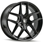 4 Touren TR79 18x8 5x120 +35mm Gloss Black Wheels Rims 18 Inch