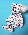 Ty Beanie Baby/Babies Red, White & Blue Bear - 2003 USA - NEW - MWMT
