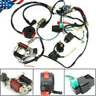 50CC 125CC CDI WIRE HARNESS STATOR ASSEMBLY WIRING KIT FOR ATV ELECTRIC QUAD US