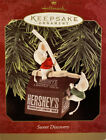 Hallmark 1997 Sweet Discovery Keepsake Ornament Hersheys Milk Mouse Mice QX6325