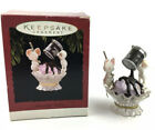 Hallmark Keepsake Christmas Ornament Friendship Sundae 1994 Hershey's Syrup Mice