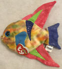 """Retired 2000 Ty Beanie Babies ~~ Aruba ~~ NWT ~  Fish With Hologram Tag 7"""""""