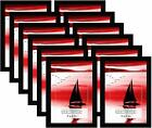 Americanflat Frames with Glass Fronts 12 Pack 4x6 Black