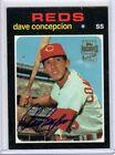 2001 TOPPS ARCHIVES DAVE CONCEPCION