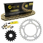 Sprocket Chain Set for KTM 1190 RC8 RC8R 17/37 Tooth 525 X-Ring Front Rear Kit