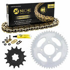 Sprocket Chain Set for Hyosung RX125 XRX125 SM 14/48 Tooth X-Ring 428 Front Rear