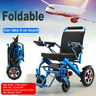 Electric Wheelchair Medical Mobility Old Elderly Disabled Aid Motorized Folding
