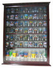 72 Shot Glass Shooter Display Case Rack Wall Cabinet Shadow Box SC13 CHE