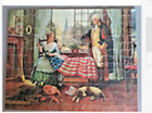 Vintage Viking Wayne Jig A Puzzle 21X Birth Of The Flag Complete1940s