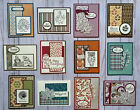 12 Fall Autumn Thanksgiving geeting cards envelopes Stampin Up +more