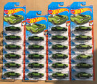 Lot Of 23 NEW 2020 Hot Wheels Green 86 Monte Carlo SS Muscle Mania 6 10 196 250