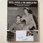 Noel Neill Aka Lois Lane SIGNED Card & Bio Superman George Reeves Film Photos SC