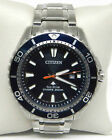 CITIZEN PROMASTER DIVER STAINLESS STEEL ECO-DRIVE MEN'S WATCH BN0191-55L