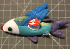 Vintage Beanie Babies 9 Inch Fish Propeller Doll August 8, 2000 NWT