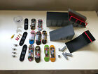 Tech Deck 9 Fingerboard LOT  Ramps