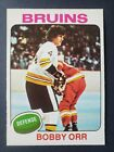 NM CENTERED 1975-76 OPC BOBBY ORR #100