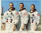 Apollo 9 Official NASA 8x10 Photograph Signed by McDivitt and Schweickart