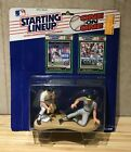 1989 STARTING LINEUP ONE ON ONE ALAN TRAMMELL & JOSE CANSECO  MINT ON CARD