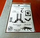 Fun Stampers Journey Which Witch Set of 10 Rubber Stamps Unmounted