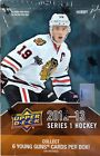 No New Rookie Players in 2012-13 Hockey Card Products - UPDATE 20