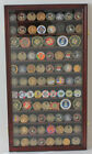 Large Challenge Coin Medal Pin Display Case Cabinet Real Glass COIN2 MA