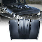 Xprite Steel Open Air Hood Scoop Vents for 07 18 Jeep Wrangler Rubicon JK JKU