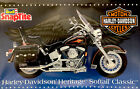 Vintage Revell 1/8 Harley Davidson Heritage Softail Classic, #7302, parts sealed