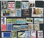 27 Postally Used Denmark ALL DIFFERENT stamps off paper Lot 20