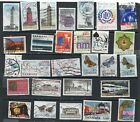 28 Postally Used Denmark ALL DIFFERENT stamps off paper Lot 21