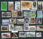 29 Postally Used Denmark ALL DIFFERENT stamps off paper Lot 23