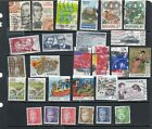 28 Postally Used Denmark ALL DIFFERENT stamps off paper Lot 25