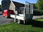 IFOR WILLIAMS LT105 TRAILER WITH MANY EXTRAS IN EXCELLENT CONDITION NO VAT