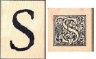 Lot of 2 S letter Stamps