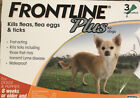 Frontline Plus For Small Dogs 0 22lbs Up To 10kg 3 Month Supply New In Box