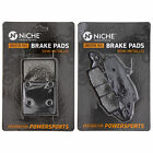 NICHE Brake Pad Set Suzuki GS500E GS500F 69100-01820 Complete Semi-Metallic
