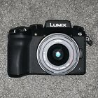 Panasonic Lumix DMC-G7KEB-K DSLM Camera 4K HD Recording 16 MP 14-42mm W/32GB SD