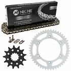Sprocket Chain Set for Husqvarna WR250 WR350 13/48 Tooth 520 Rear Front Combo