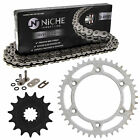 Sprocket Chain Set for Husaberg FS450E 15/42 Tooth 520 O-Ring Front Rear Kit