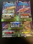 1 64 Diecast Muscle Machines Import Tuner Lot WRX Evo Civic Silvia S15 Lot of 5
